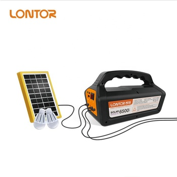 Lontor Brand Hot Solar Lighting Kit With Multi Functions Ctl Slk001