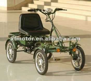 4 wheel green electric bike buy 4 wheel green electric bike specialized electric bicycle. Black Bedroom Furniture Sets. Home Design Ideas