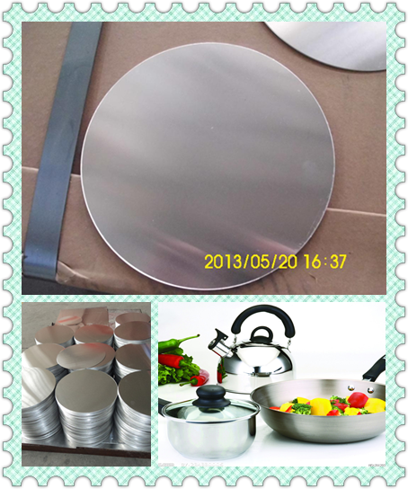 for cookware utensils 1050 aluminium circle/tube for kitchen ware