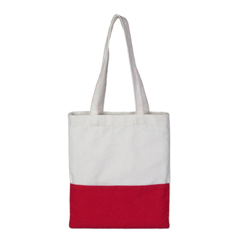 Customized Nature Color Cotton Shopping Bag