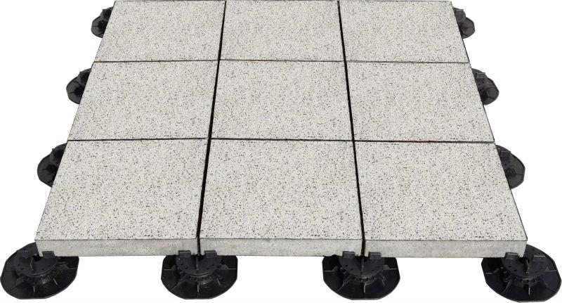 Piedistallo regolabile in plastica per esterni pietra e - Piastrelle cemento per esterni ...