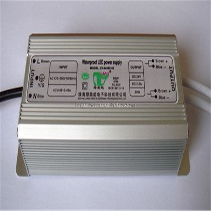 Hot selling 400W constant current waterproof power supply 24vdc