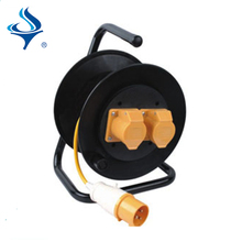 electric extension cable reel with socket outlet switch UK standard waterproof cable reel