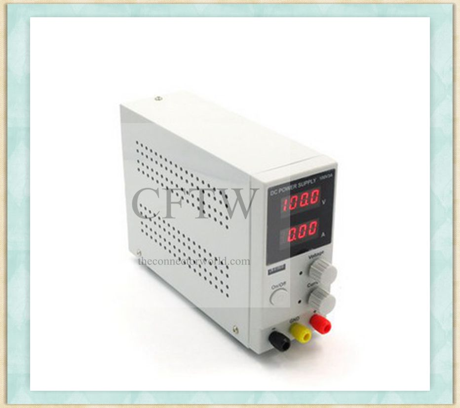 Universal 0~100V 0~1A Adjustable Current and Voltage AC-DC Regulated Power Supply