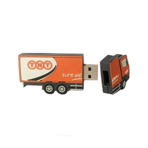 Promotion wholesale alibaba oem truck shape usb 2.0 flash drive drop shipping suppliers branding your own products