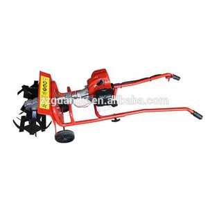 Simple farm tools tiller cultivator / mini power tiller