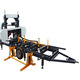 portable wood sawmill band saw, wood working band saw mills, log cutting machine