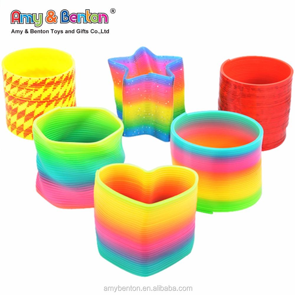 La Venta Promocional Del Arco Juguetes De Para Springs Pequeños Rainbow Buy Resorte Plástico IYgf7b6yv