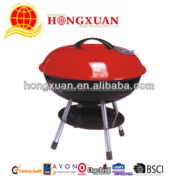 Apple Shape Bbq Charcoal Stove / Bbq Grill / Charcoal Grill ...