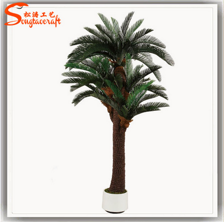 Hot sale 40inch artificial sago palms artificial cycas palm tree
