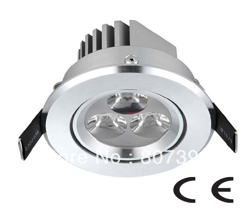 2 year warranty 3w Led Down Light / 3w Led Downlight / 3w Led Down Lamp CE & RoHS