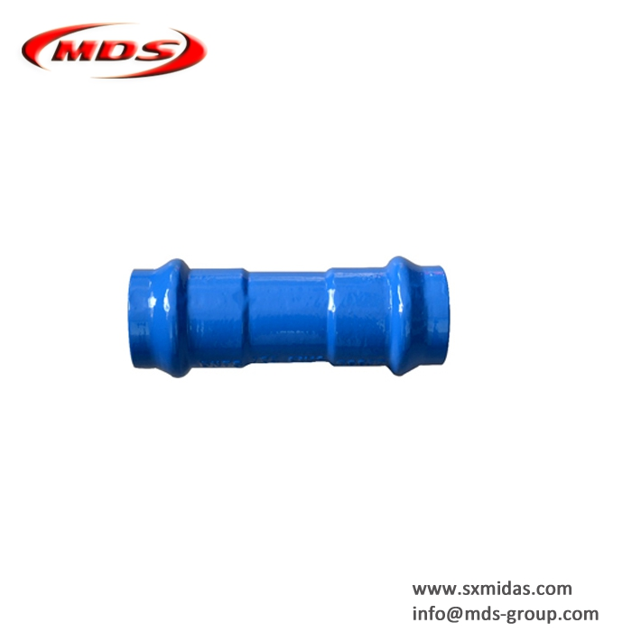 ISO2531 dci ductile cast iron collar pipe fitting