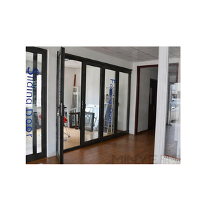 Good sale as2047 standard swing aluminum bifold glass door