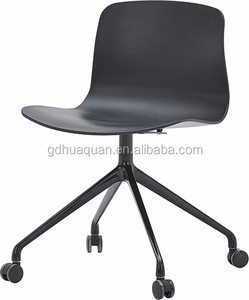 Palace Furniture High Quality Office Chair With Armless, Chair with Castor And Steel Base