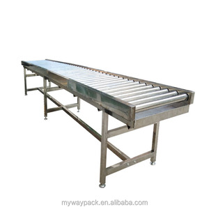 Expandable Flexible Gravity Skate-Wheel Conveyor with CE