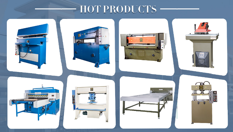 Hydraulic swing arm cutting machine