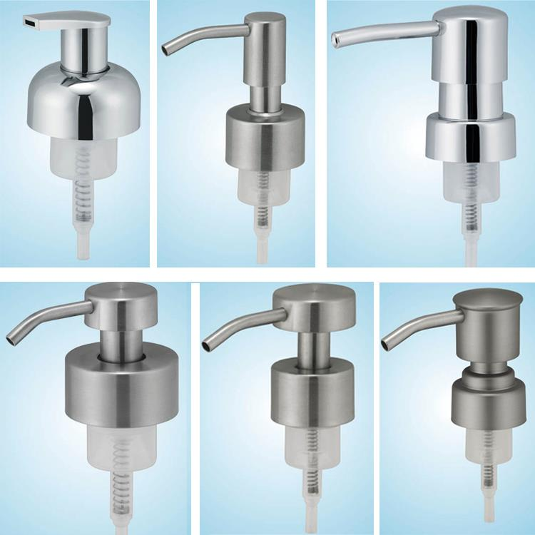 Stainless steel 28/400 38/400 45mm soap foam dispenser pump