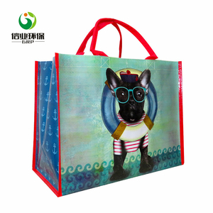 custom printing 115g~200g souvenir waterproof tote bag