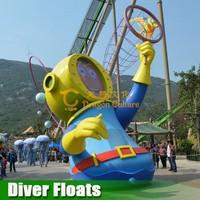 playground ocean park fiberglass simulation models customized