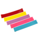 Natural Latex Rubber Color Custom logo print Fitness Exercise Elastic Sport Resistance Loop Pull Up Assist Bands for Hip Ankle
