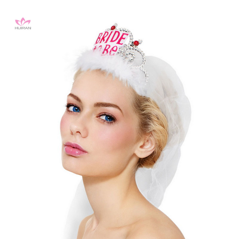 Bachelorette Party Wedding Veil Bride To Be Tiara