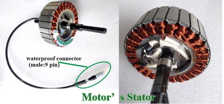 CZJB-75T2 electric bike brushless hub cassette motor 24v 250w