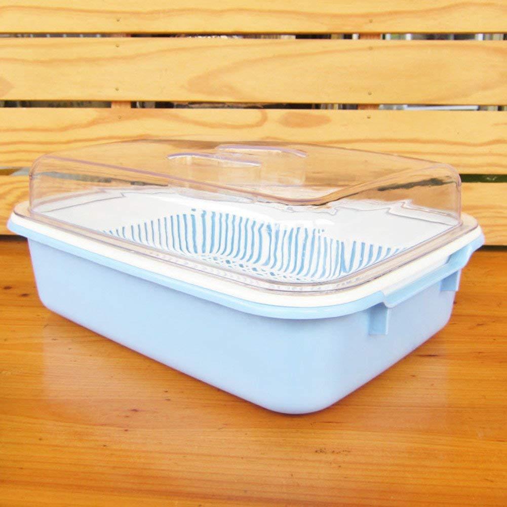 How basket plastic fruit plate/drain/double drain basket/colorful vegetable basket/Vegetable-B