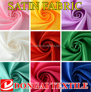 Cheap Polyester Satin Fabric,Shine Fabric Textile,Garment Fabric Suppliers
