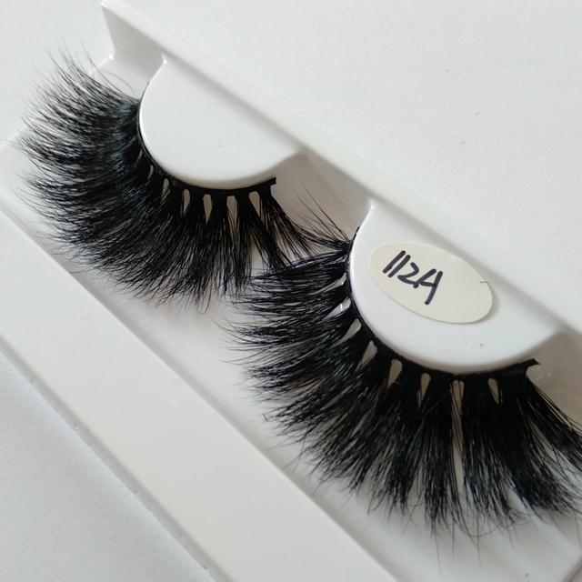 100% mink hair cruelty free 25mm 5D mink lashes 3D mink lashes