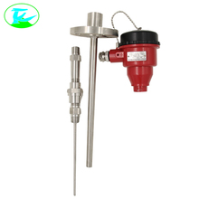 Assembly thermocouple with flange with metallic protection tube