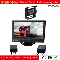 reversing system/Wireless backup Camera system With 7 inch car LCD Monitor