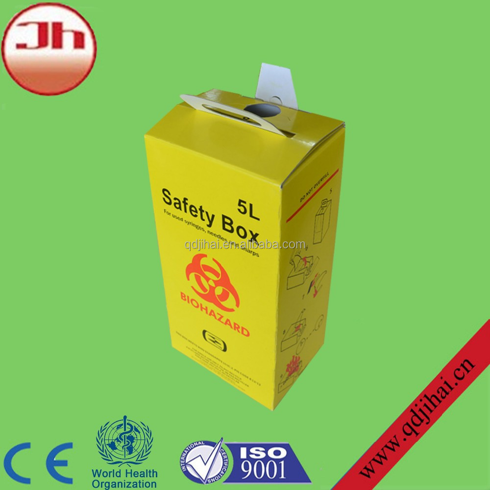 import export company names disposable medical safety box for medical & health