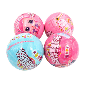 Surprise Guessing Demolition Lol Dolls Anime Figure Water Spray Toy DIY Puzzle Children's Toys