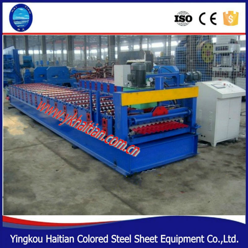 Roof Tile Sheet Steel Machine Corrugated Sheet Bending