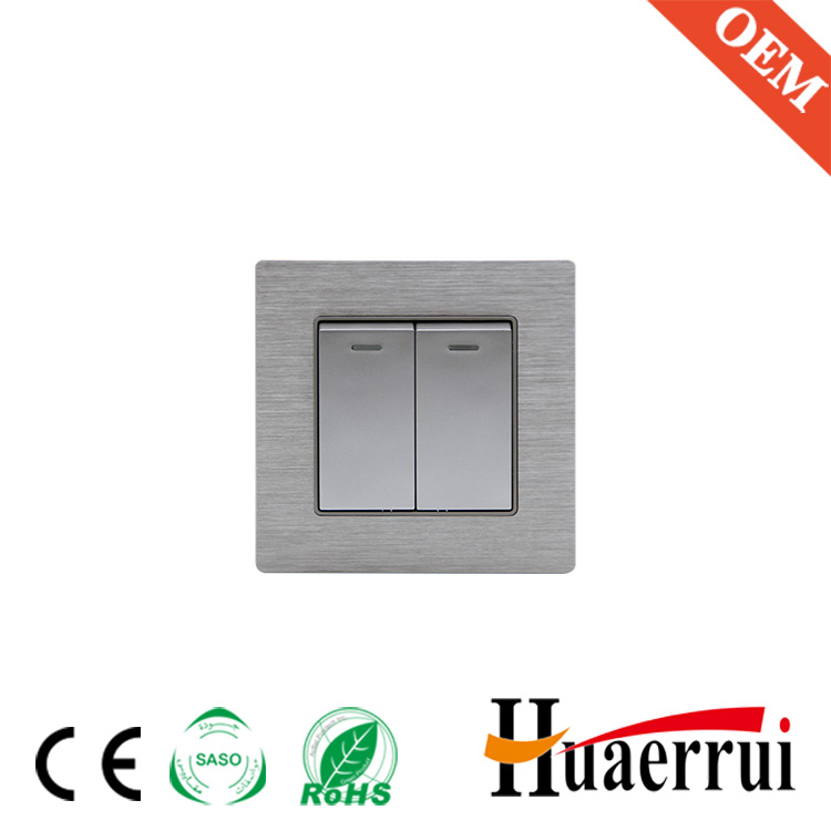 Different Models of PC 3 gang 2 way polo wall switch With Good After-sale Service