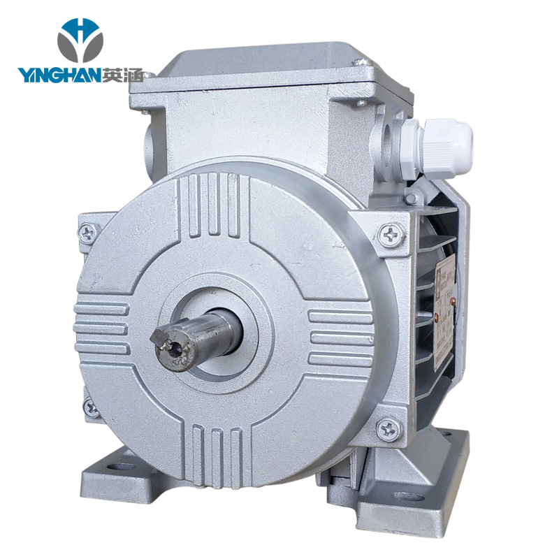 hangzhou yinghan electric three-phase asynchronous motor price YS series motor with flange induction motor
