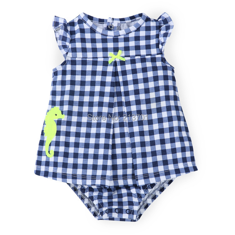 c85dc2fba3a Buy New 2015 Brand Summer Style Baby Clothing Carters Baby Girl Sleeveless  Rompers Cotton New Born Baby Girls Romper Dress in Cheap Price on  m.alibaba.com