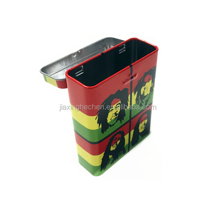 Hot selling cigarette tin case