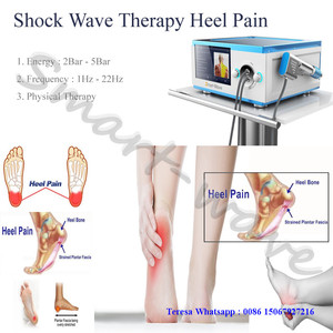 High energy acoustic shockwave therapy pain relief electromagnetic wave shock wave therapy for heel pain