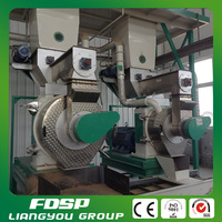 Ring die machine to make biomass pellets