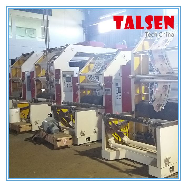 China Automatic stack CI YTC-41000 4-colour laminated paper flexo Printing Machinery factory