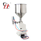 Pneumatic Liquid Filling Machine Pneumatic A02 Automatic Pneumatic Small Bottle Paste Liquid Filling Machine