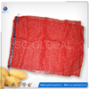 Poly potatoes and onions packaging service HDPE net raschel fruit mesh bag