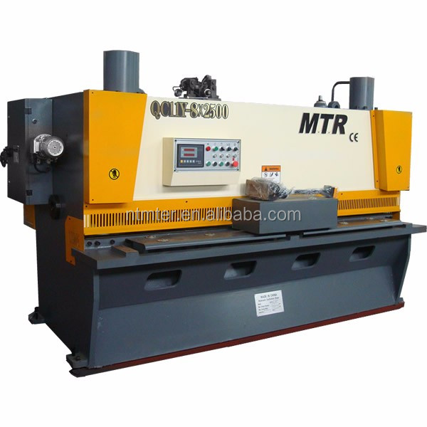 MTR QC11Y - 8 * 3200 low price and high quality hydraulic shearing machine