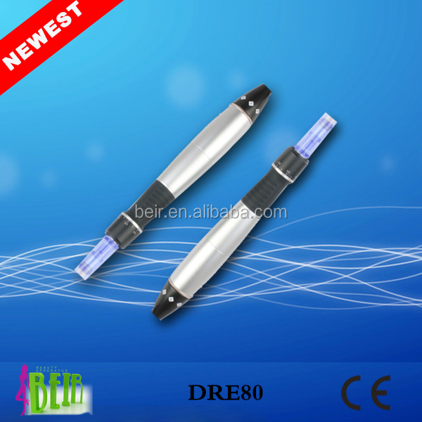 Factory top selling micro needles 9 / 12 pins electric auto derma skin roller pen home use DRE80