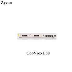 30 Concurrent Calls Up to 100 Extensions IP PBX Zycoo CooVox Series- U50