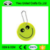 Hot selling competitive price reflective soft pvc keychain