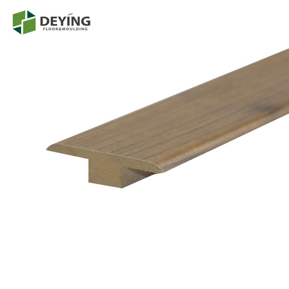 Decorative Floating Floor Accessories Wood Grain Mdf Transition