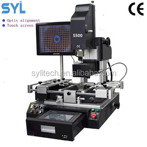 intel bga IC reballing machine S500 BGA rework station optical alignment repair cell phone laptop BGA rework station