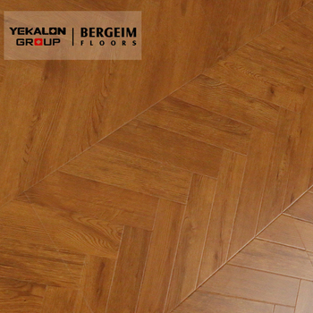 12mm Chevron Engineered Wood Herringbone Parquet Laminate Flooring